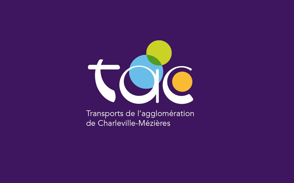 Logo - TAC (transports de l'Agglomération de Charleville-Mézières)
