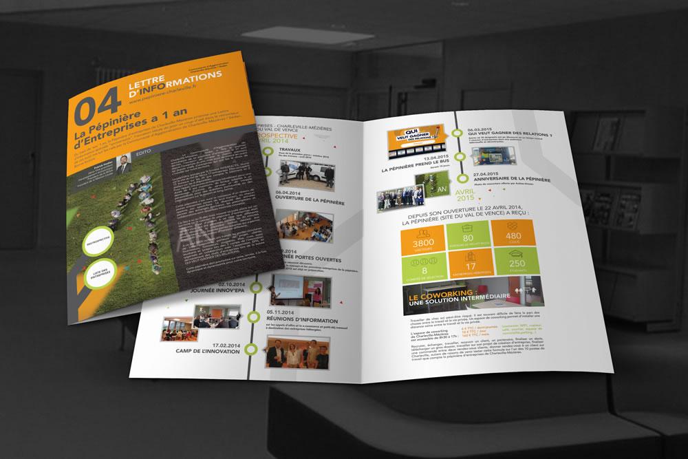 Lettre d'Info - Pépinières d'Entreprises Ardenne Métropole
