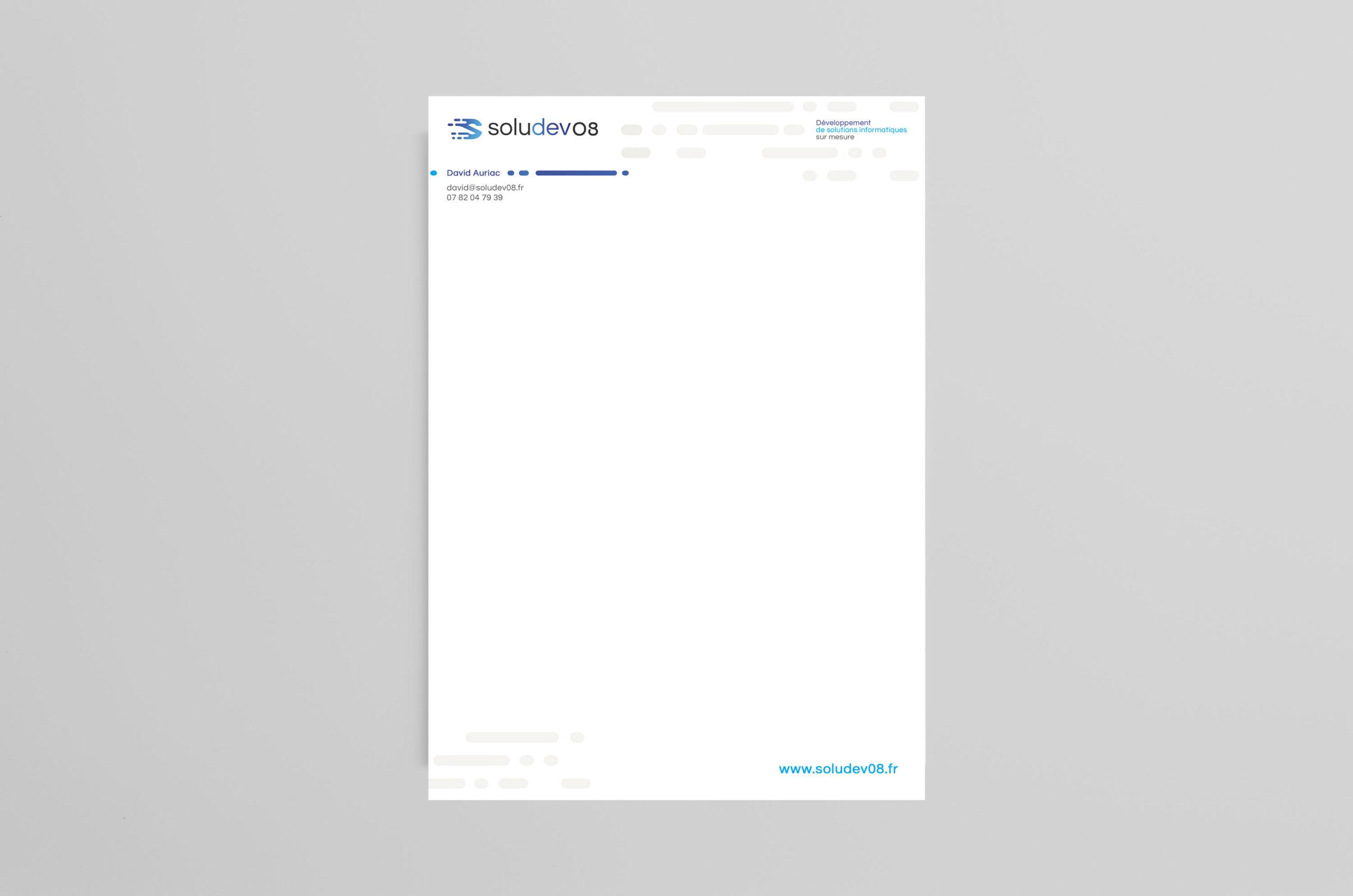 Tête de lettre - Soludev08