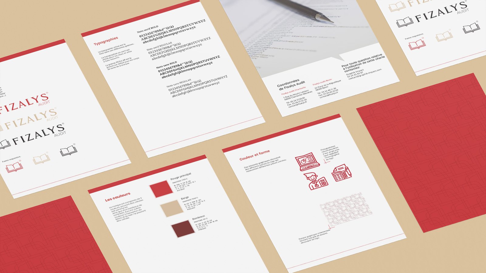 Charte Graphique - Fizalys