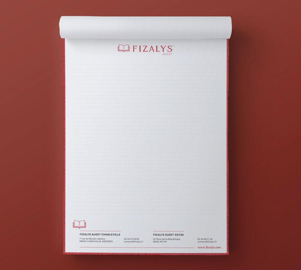Bloc Note - Fizalys Audit