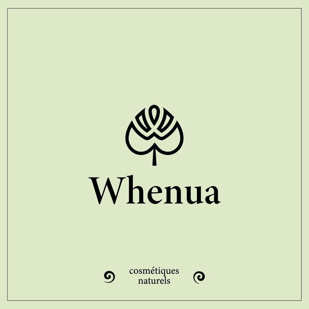 Logotype Whenua et baseline