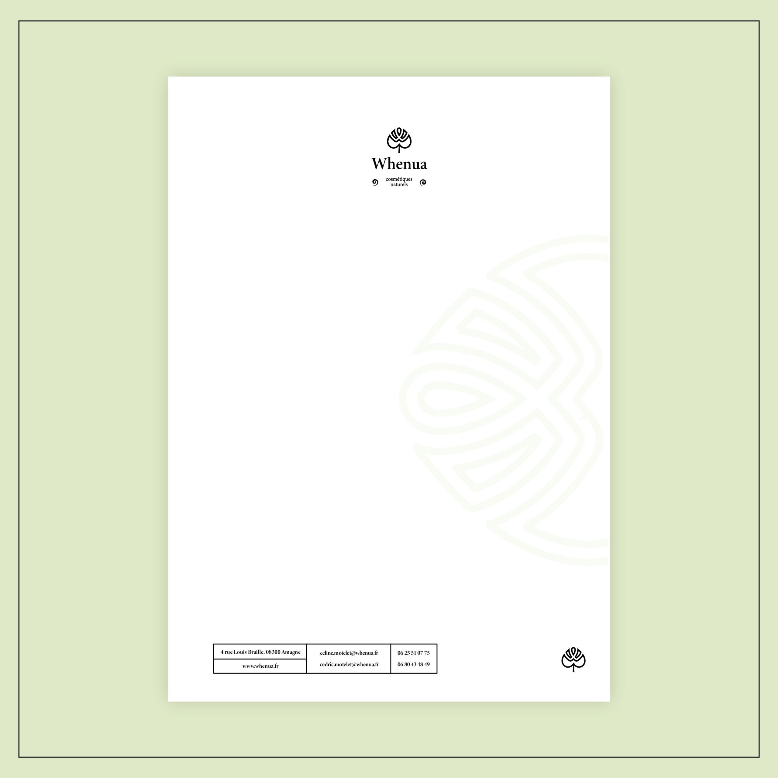 Papier à lettre Whenua