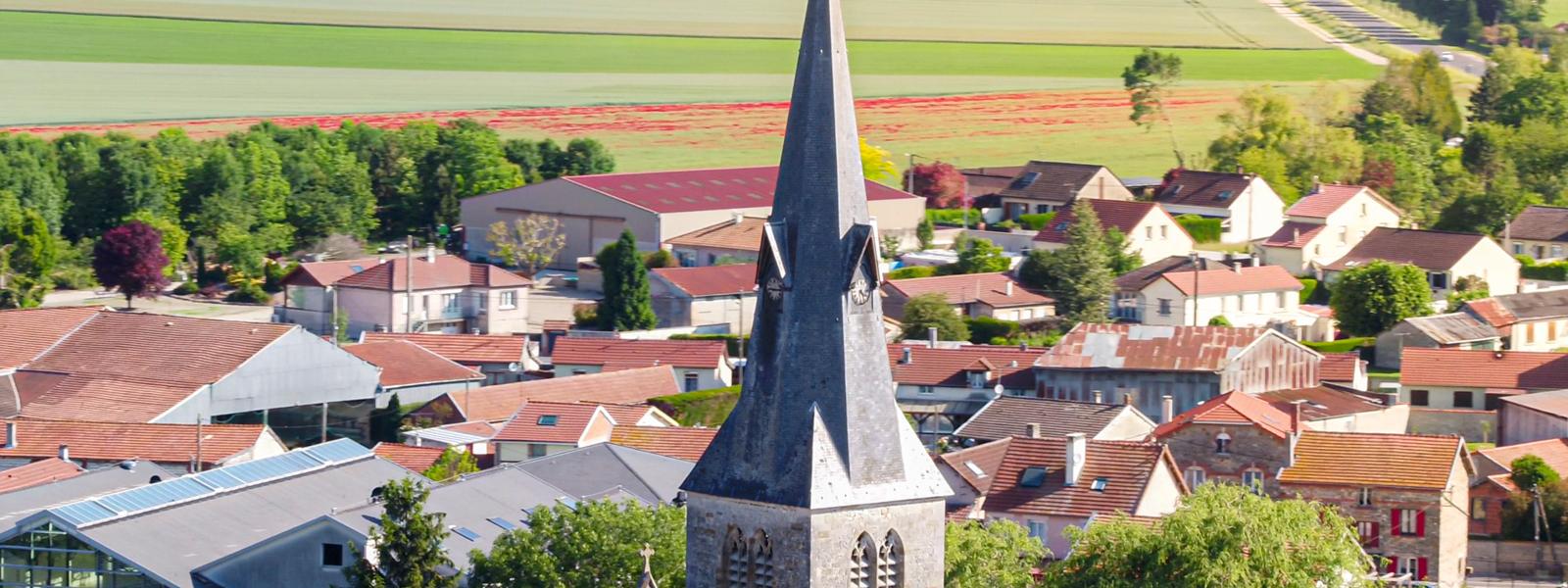 Photo clocher - Ville de Suippes