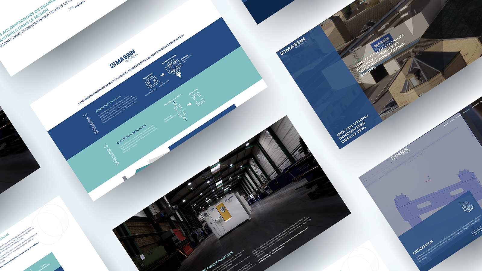Site Web - Massin Technologies